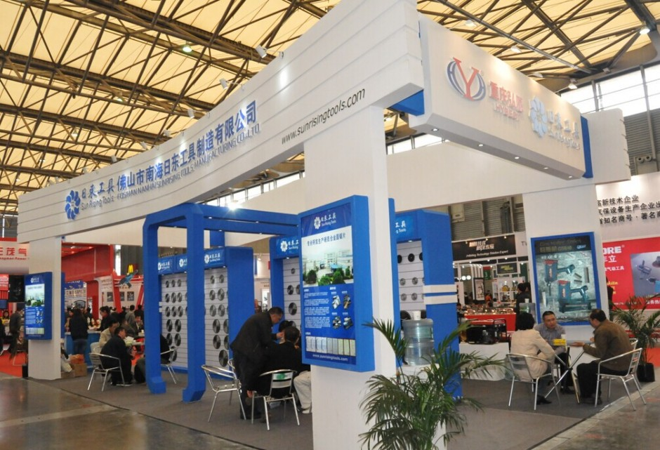 exhibition stand builder, China hardware show